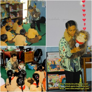 Edutainment Magic di SDN Ploso 1 bersama Kak Windy Citra Negara 1