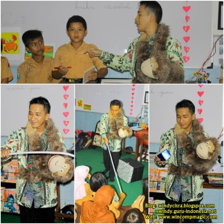 Edutainment Magic di SDN Ploso 1 bersama Kak Windy Citra Negara 4